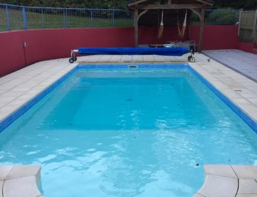 Zwembad gerenoveerd!